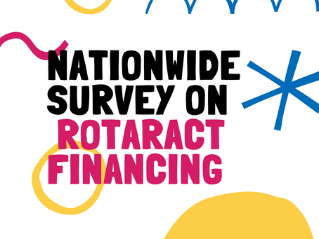 Nationwide Survey on Rotaract Financing