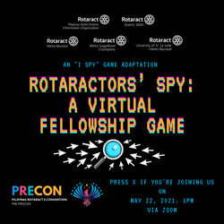Rotaractors' Spy: A Virtual Guessing Game
