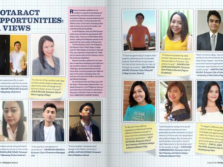Rotaract Opportunities: Views from 11 PH Rotaractors