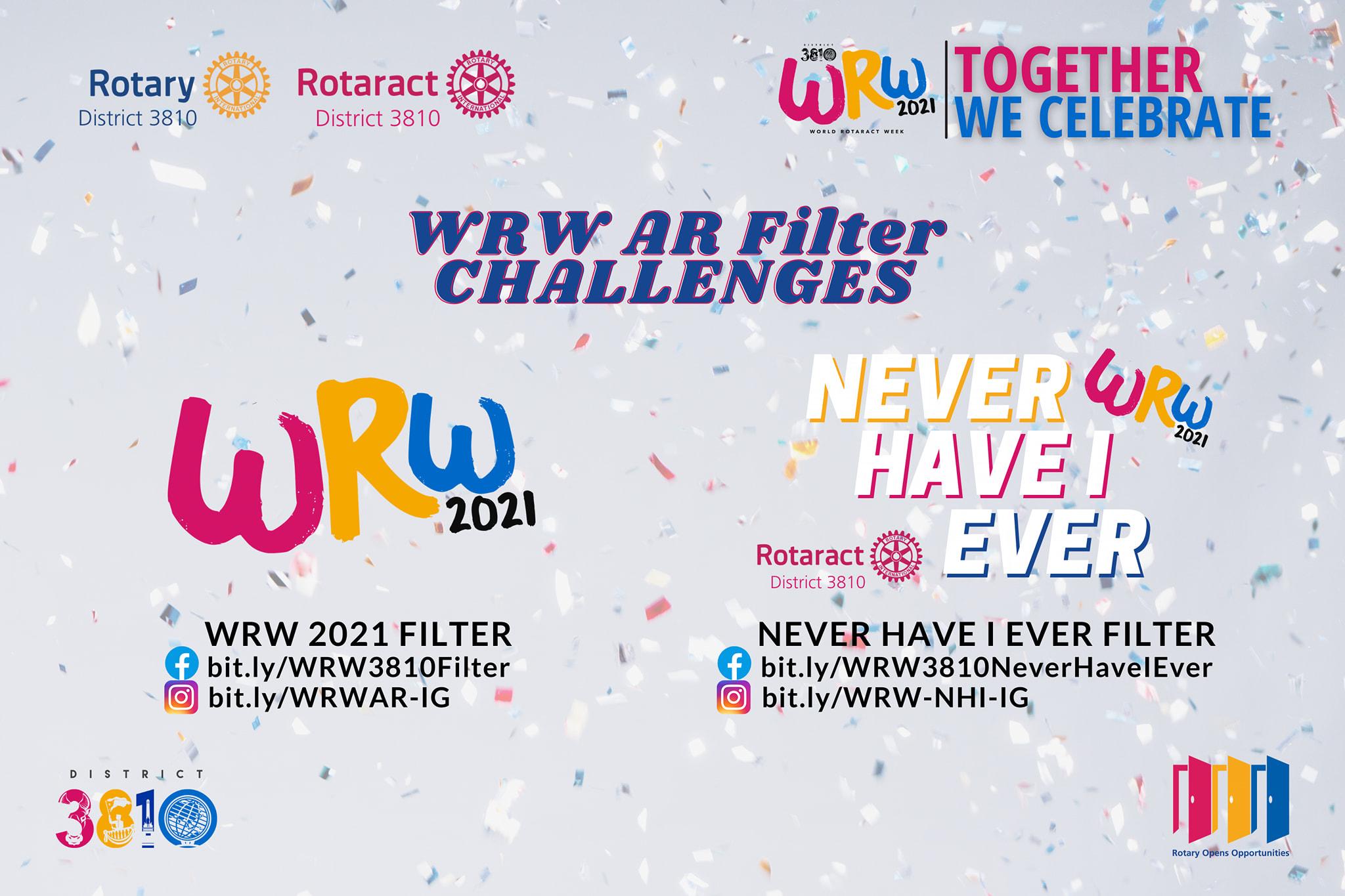 World Rotaract Week AR Filters