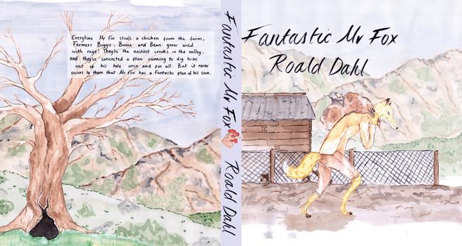 Fantastic Mr Fox Book Cover