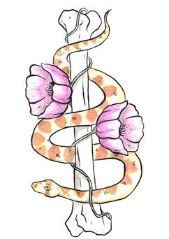 Bone Tattoo Design