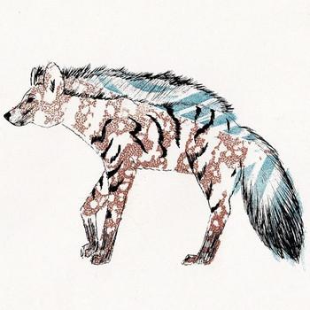 Aardwolf Print