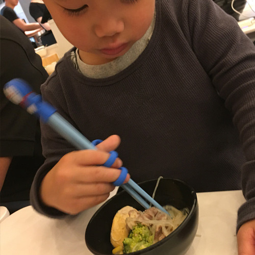 Re-useable chopsticks