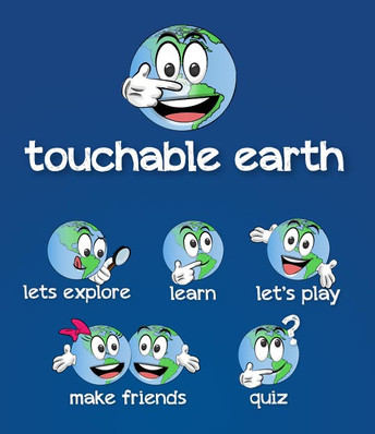 Touchable Earth logos