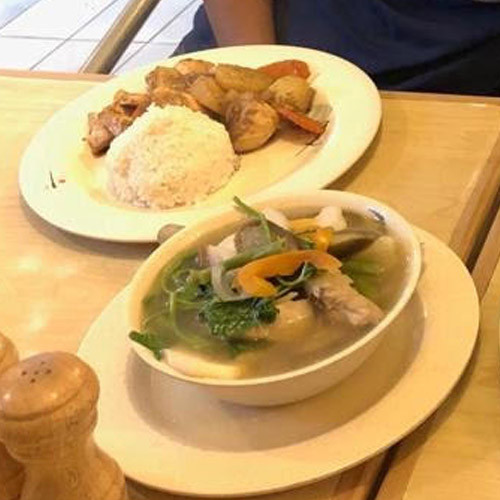 Adobo Chicken and Sinigang