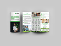 Spinach marketing brochure
