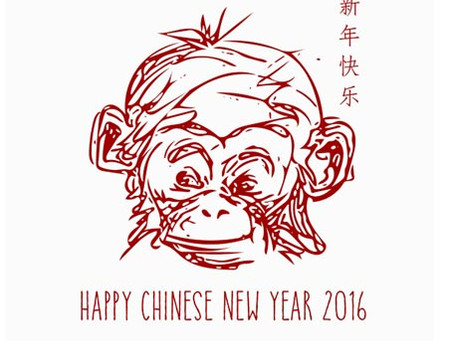 The Year of the Cheeky Monkey