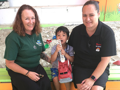 Take a load off with St Lukes Shoppers' Creche