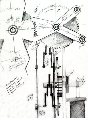 """Darrell Tousley kinetic sculpture Autism Savant"""