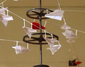 "Just Plane Sculpture ""Darrell Tousley kinetic sculpture Autism Savant"""