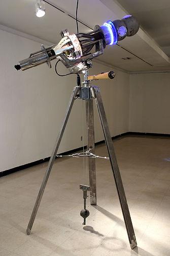 "An Eye Single ""Darrell Tousley kinetic sculpture Autism Savant"""