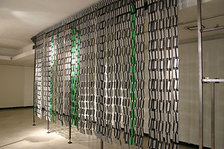 "Flippi'n Wall ""Darrell Tousley kinetic sculpture Autism Savant"""