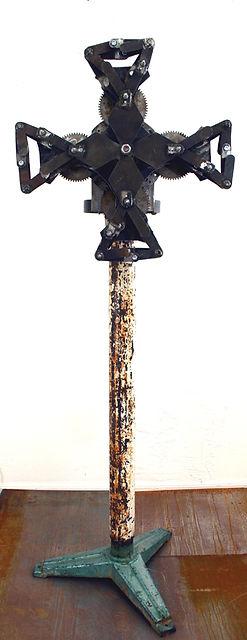 "Collide ""Darrell Tousley kinetic sculpture Autism Savant"""