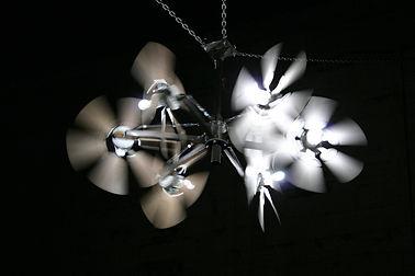 "My Biggest Fan ""Darrell Tousley kinetic sculpture Autism Savant"""
