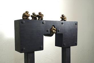 "My Grain ""Darrell Tousley kinetic sculpture Autism Savant"""