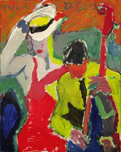 Артисты в Альтоне. Hamburg. 2009  Х., акрил 100х80.jpg