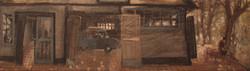 сарай-гараж