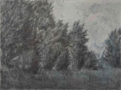 E. Rozhkova. Landscape.