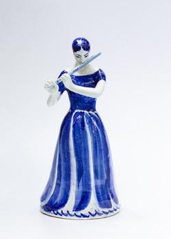 Флейтистка. 2000 е. 50 см