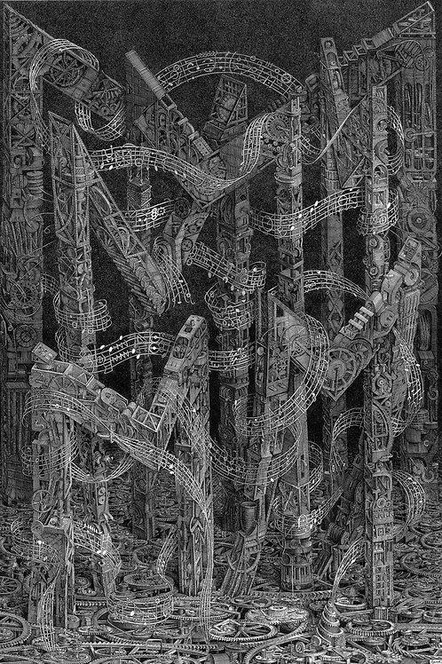 М - Музыка машин, механизмов во мраке