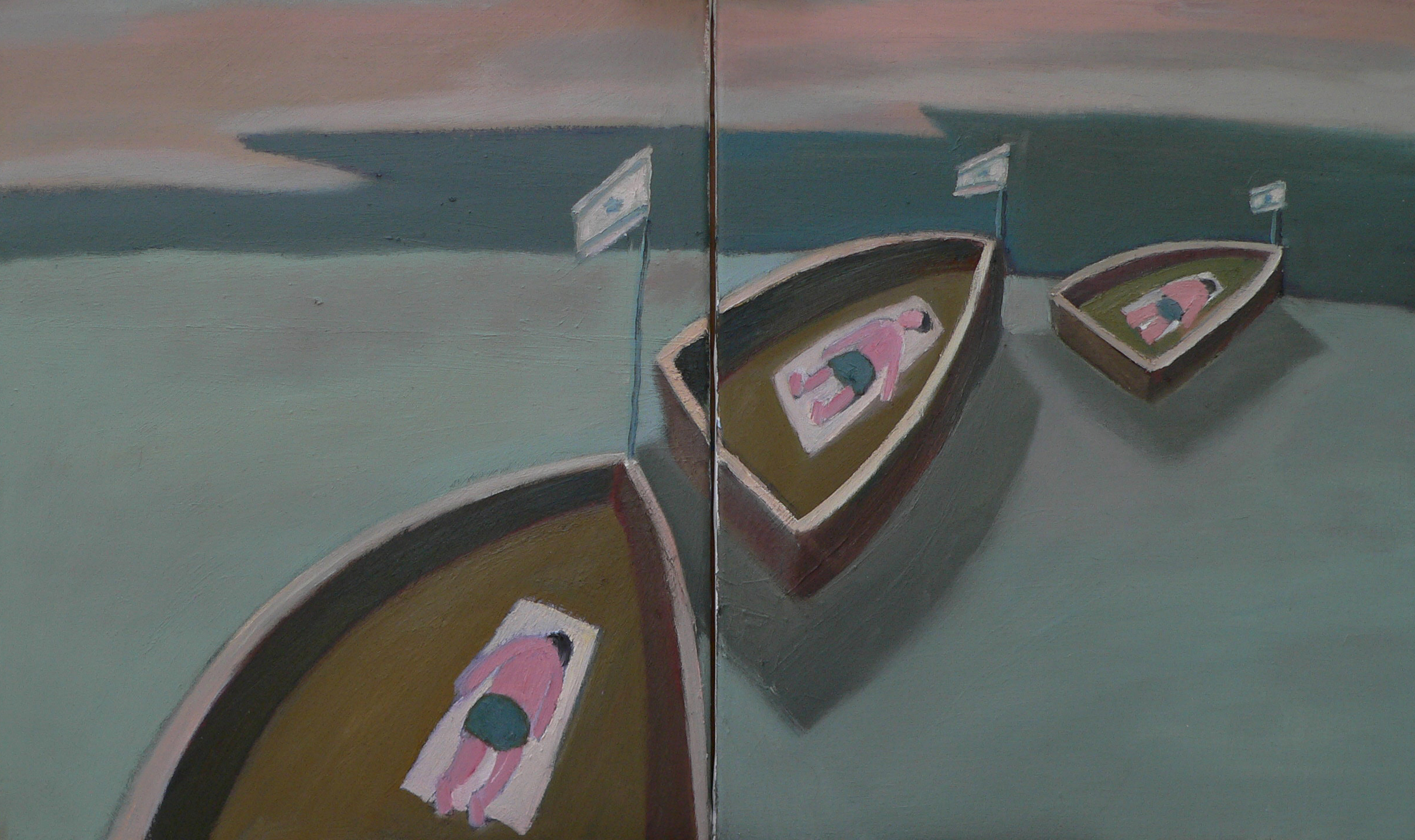 M. Yakhilevich. Three boats.