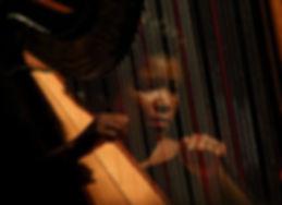 Weddin Event Harpist and Blogger Candace Lark