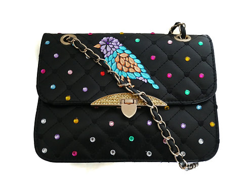 Tropical Quilted Handbag