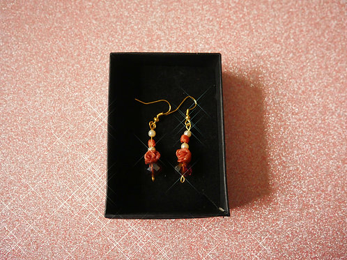 Authentic Auburn Earrings