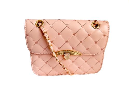 Quilted Handbag Pink