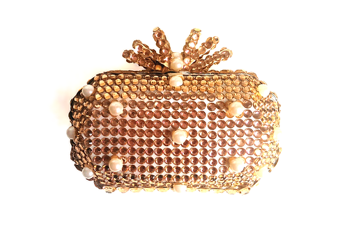 Angel Dream Range-Rose Gold Clutch Bag