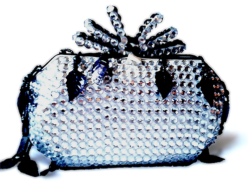 Angel Dream Range-Silver Shadow Clutch Handbag