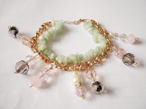 Jasmine Rose Gold Bracelet