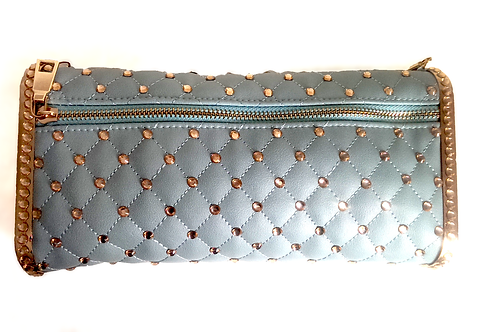Mint Green Quilted Handbag