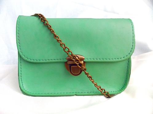 Cross Body Handbag Mint Green