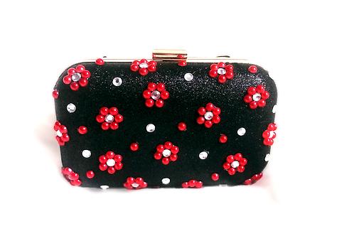 Floral Dazzle Clutch Bag