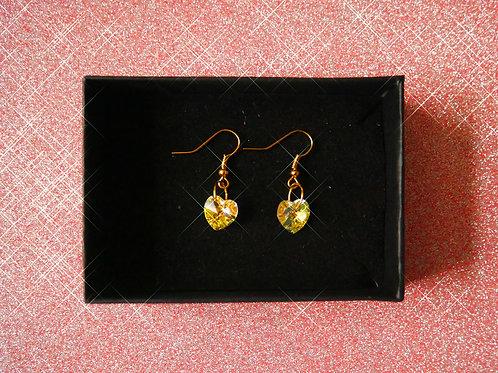 Heart Full of Gold Earrings