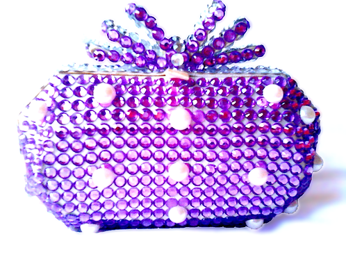 Angel Dream Range-Violet Crumble Clutch Handbag