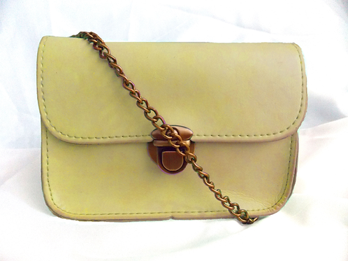 Cross Body Handbag Creme