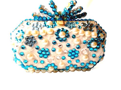 Angel Dream Range- Aquamarine Clutch Handbag