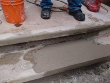 concrete stair restoration