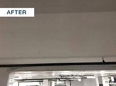 repaired ledge beam