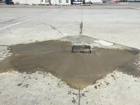 Concrete Repairs at Hamilton Airport