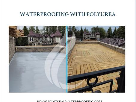 Balcony Waterproofing with Polyurea