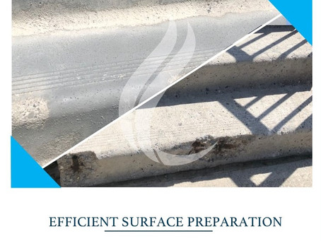 Concrete Step Restoration and Coating – Stage 1