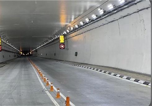 polyurea for tunnels