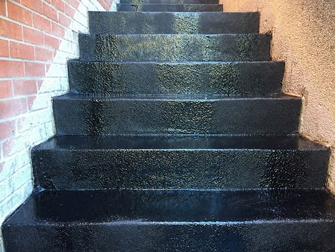 stairs specialized finish
