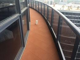Balcony Slope Reversal