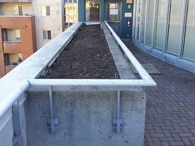 Portfolio: Roof Planter Repair and Waterproofing