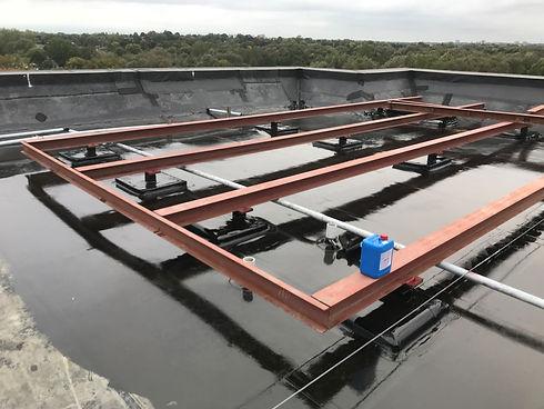 flat roof waterproofing applications